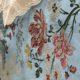 Adamaszek i lampas jedwabny Amboise niebieski