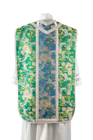 Two-lampas silk chasuble