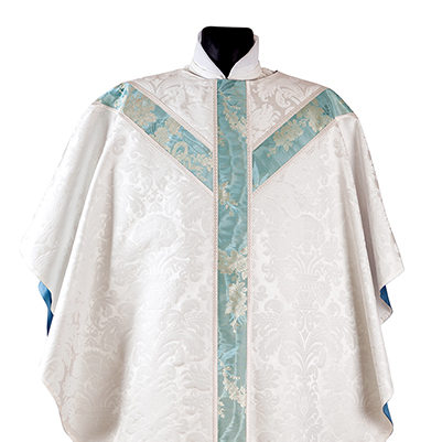 Gothic silk chasuble